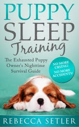 Puppy Sleep Training ebook cover